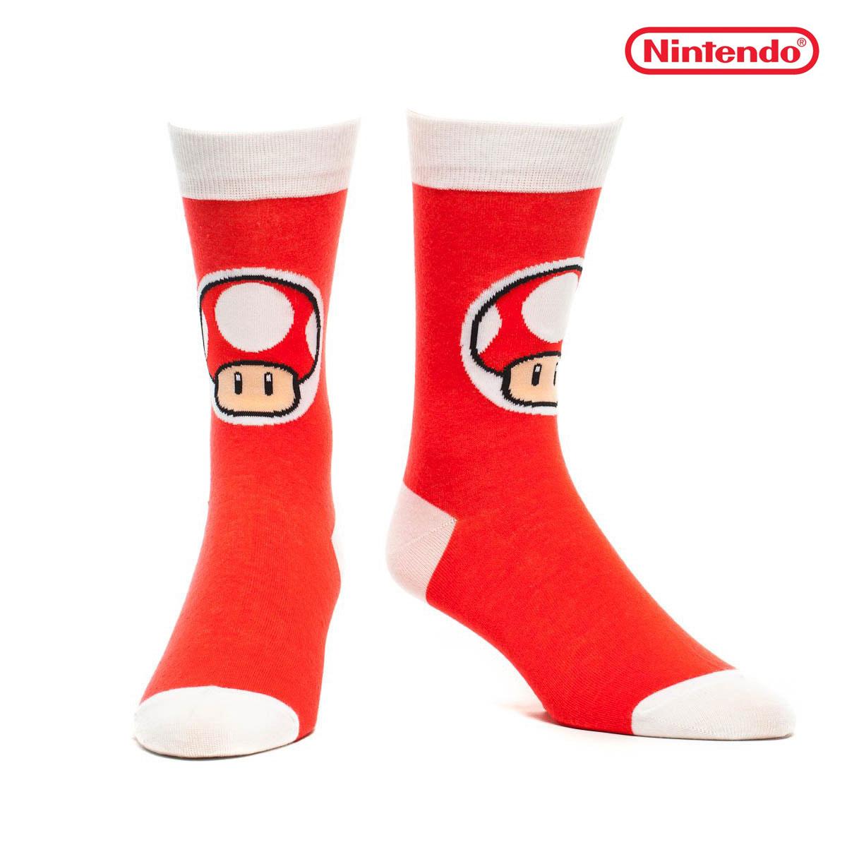 Nintendo Mushroom<br> Toad socks<br>Variations: