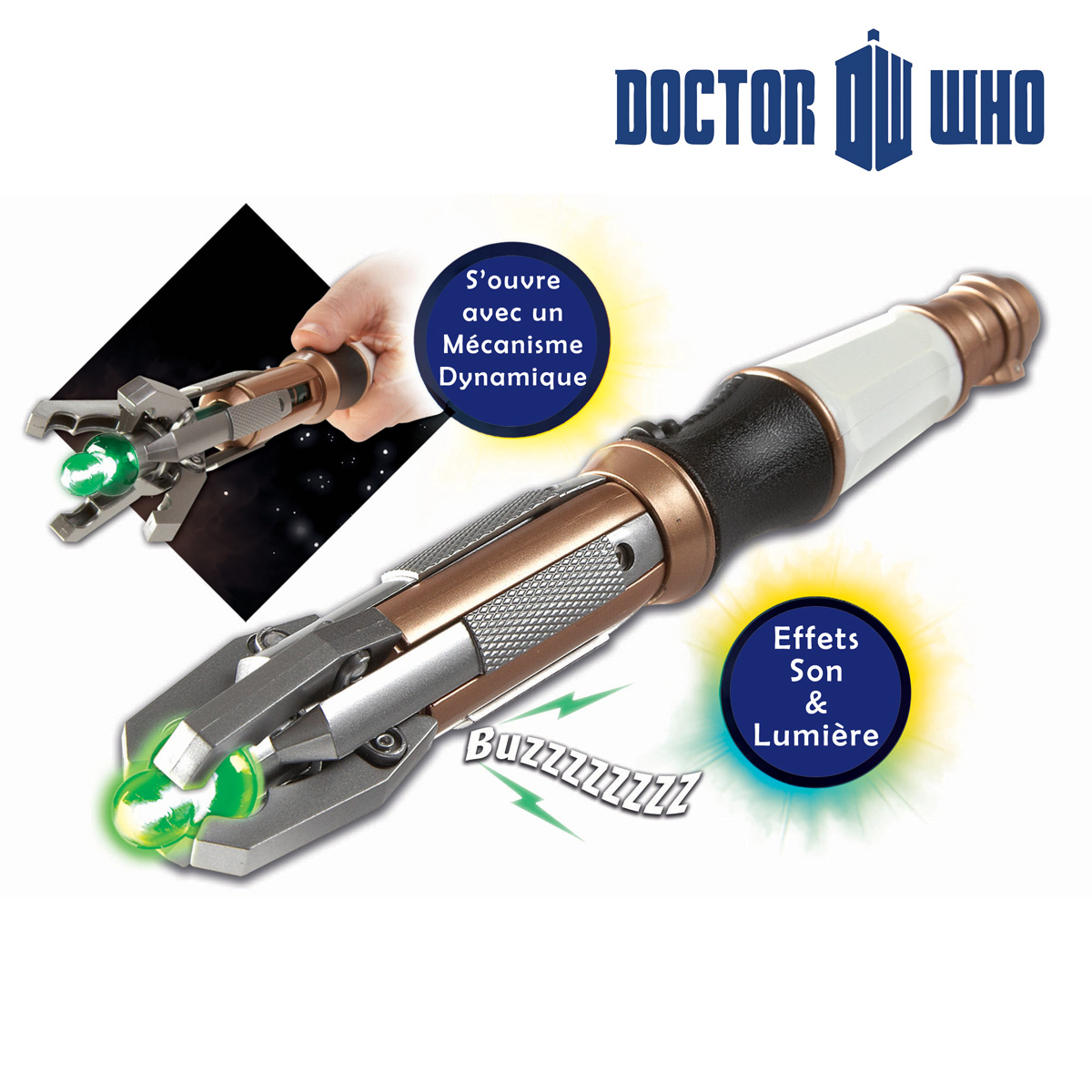 Sonic Screwdriver<br> 11th Dr Who Sound<br>and Light
