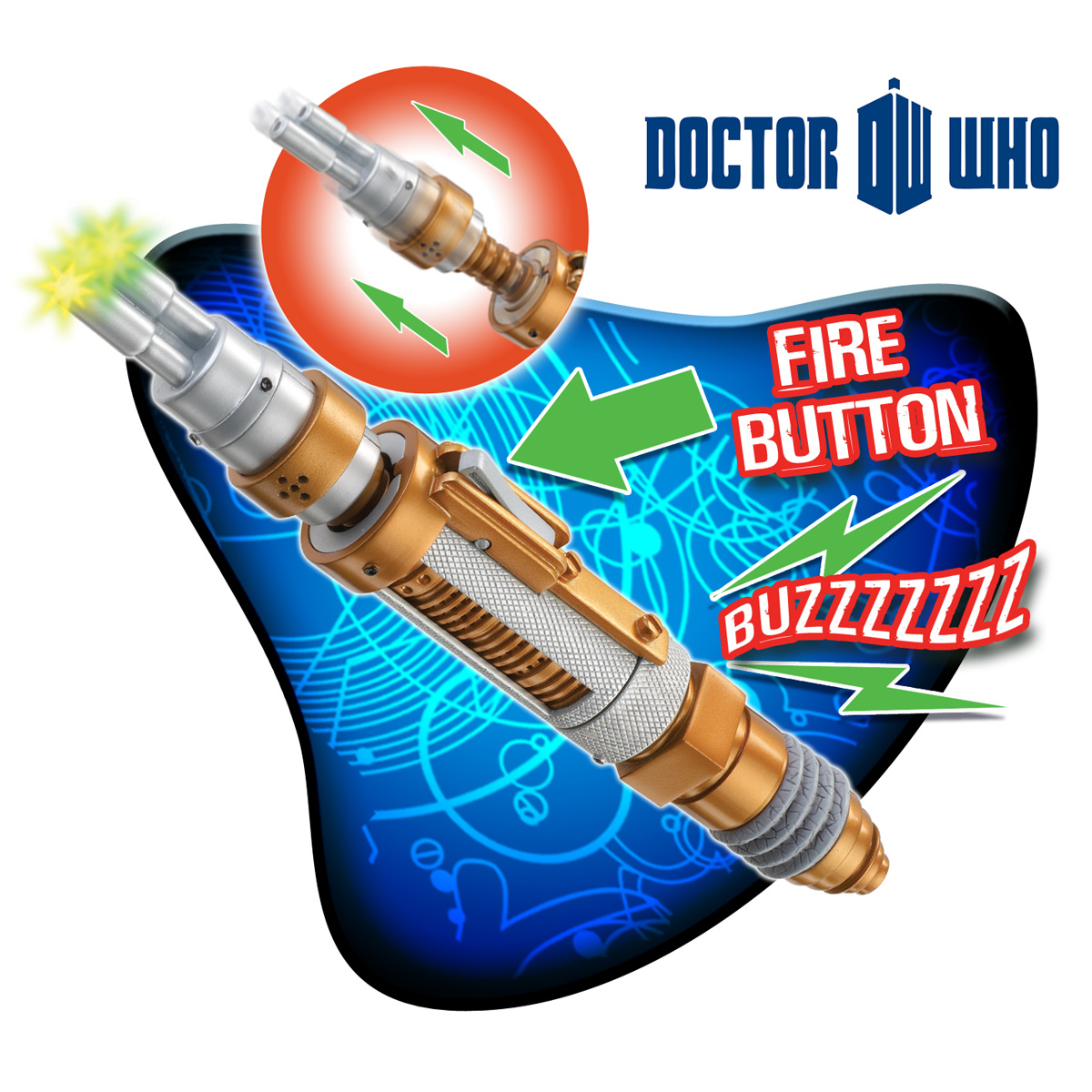 Sonic Screwdriver<br>Master Dr Who