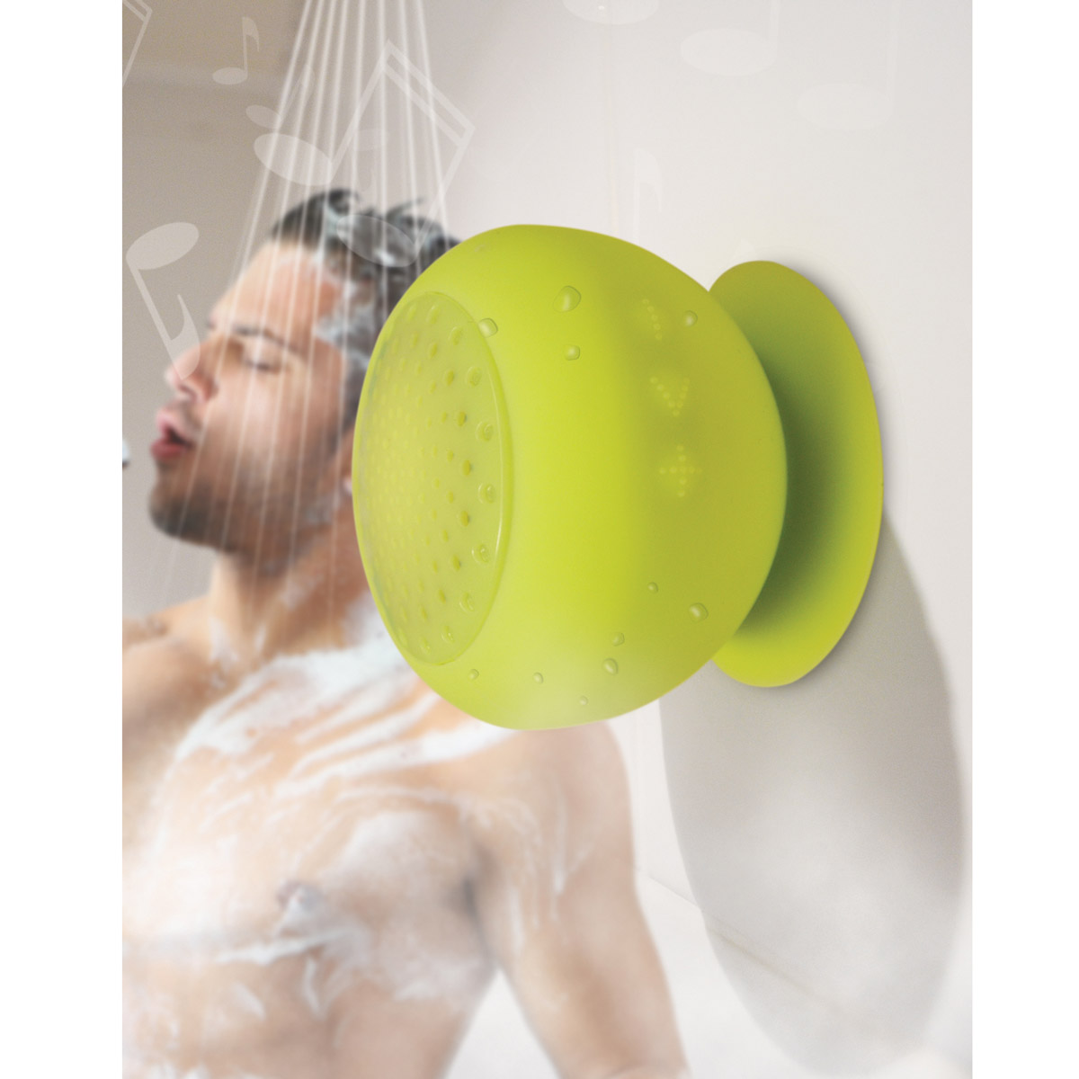 Speaker Bluetooth<br>Shower Silicone