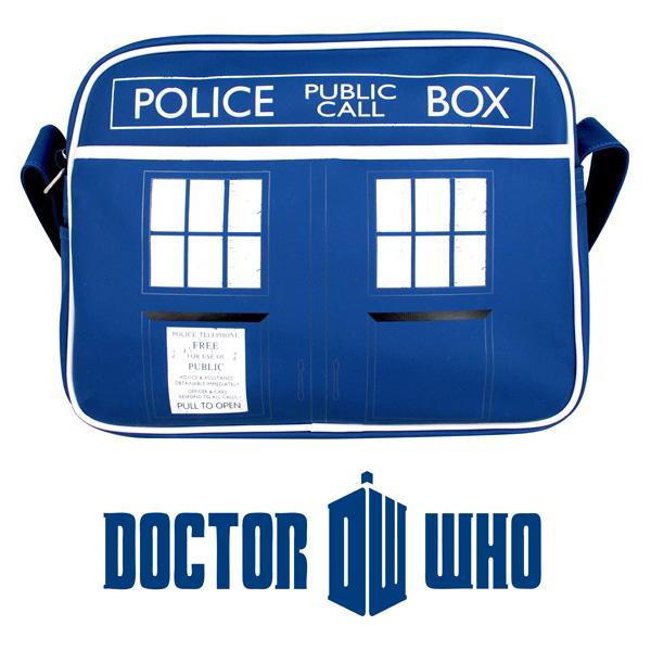 Shoulder bag Dr<br>Who Tardis