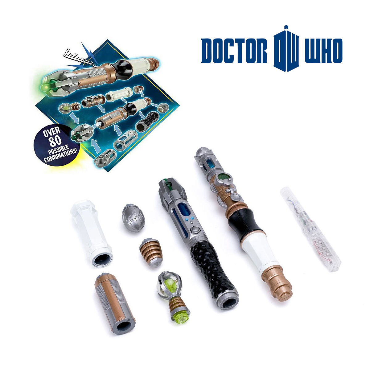 Sonic Screwdriver<br> Kit Personalized<br>Dr Who
