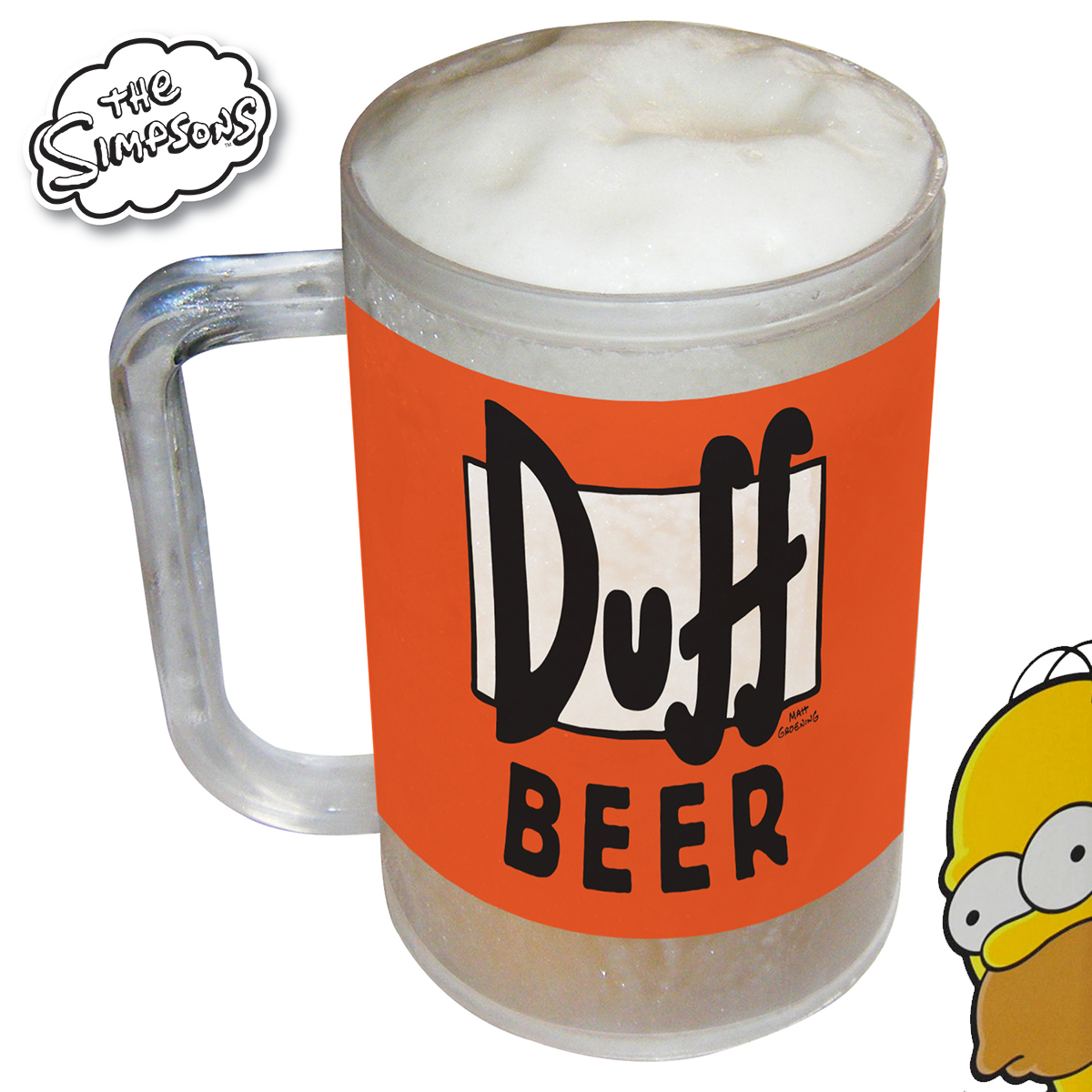 Chope Kühl<br>Simpsons Duff Bier
