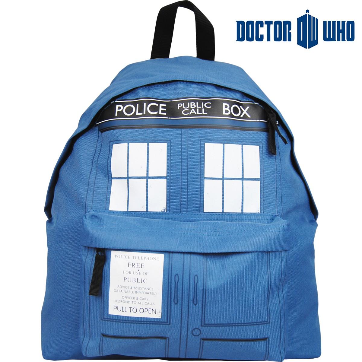 Plecak Dr Who Tardis