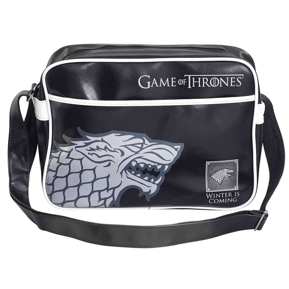 Torba na ramię<br> Game of Thrones<br>Stark