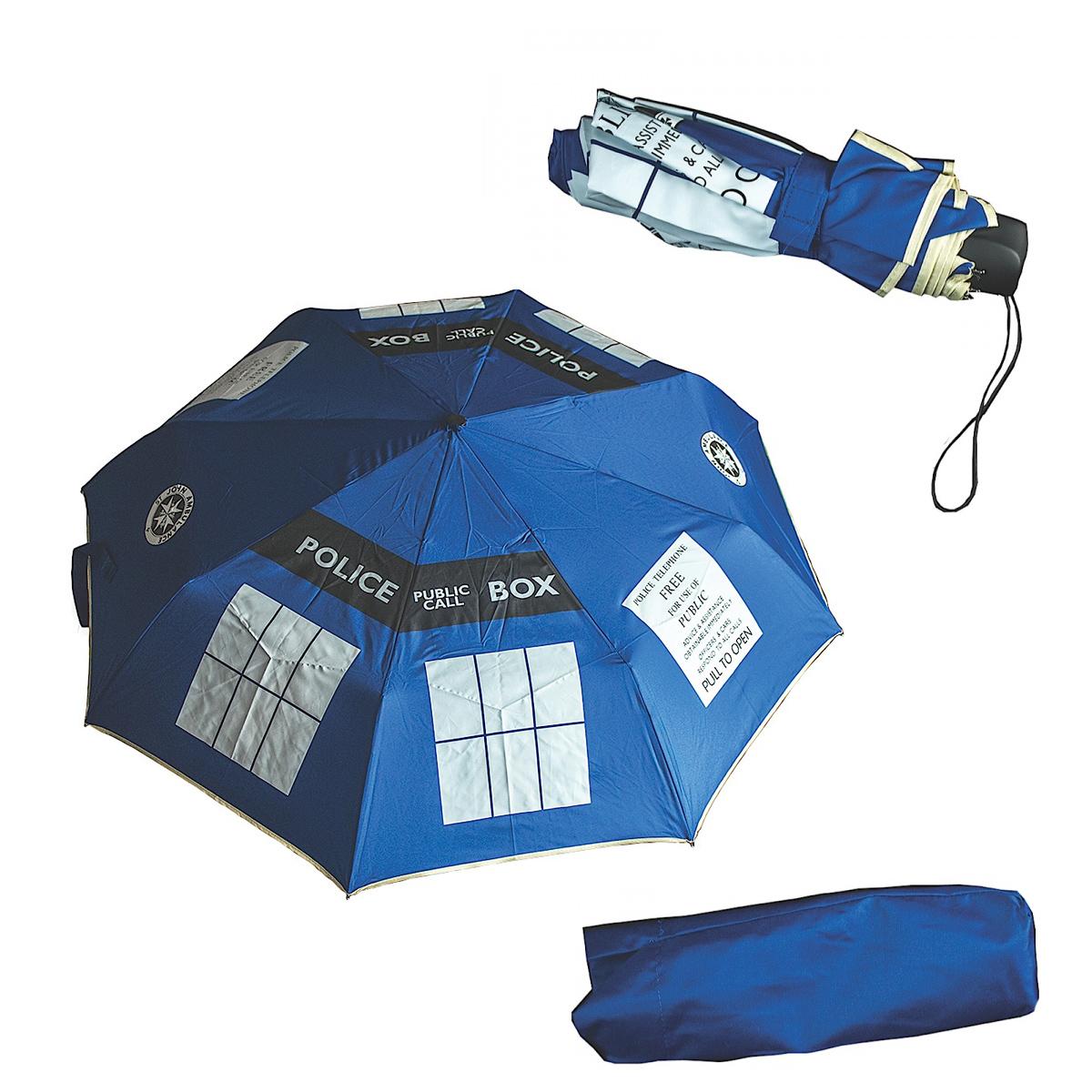 Dr Who Tardis Parasol