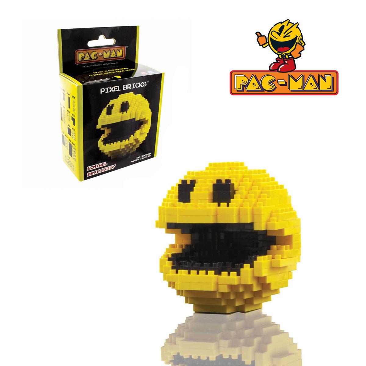 Pixel PacMan Bricks