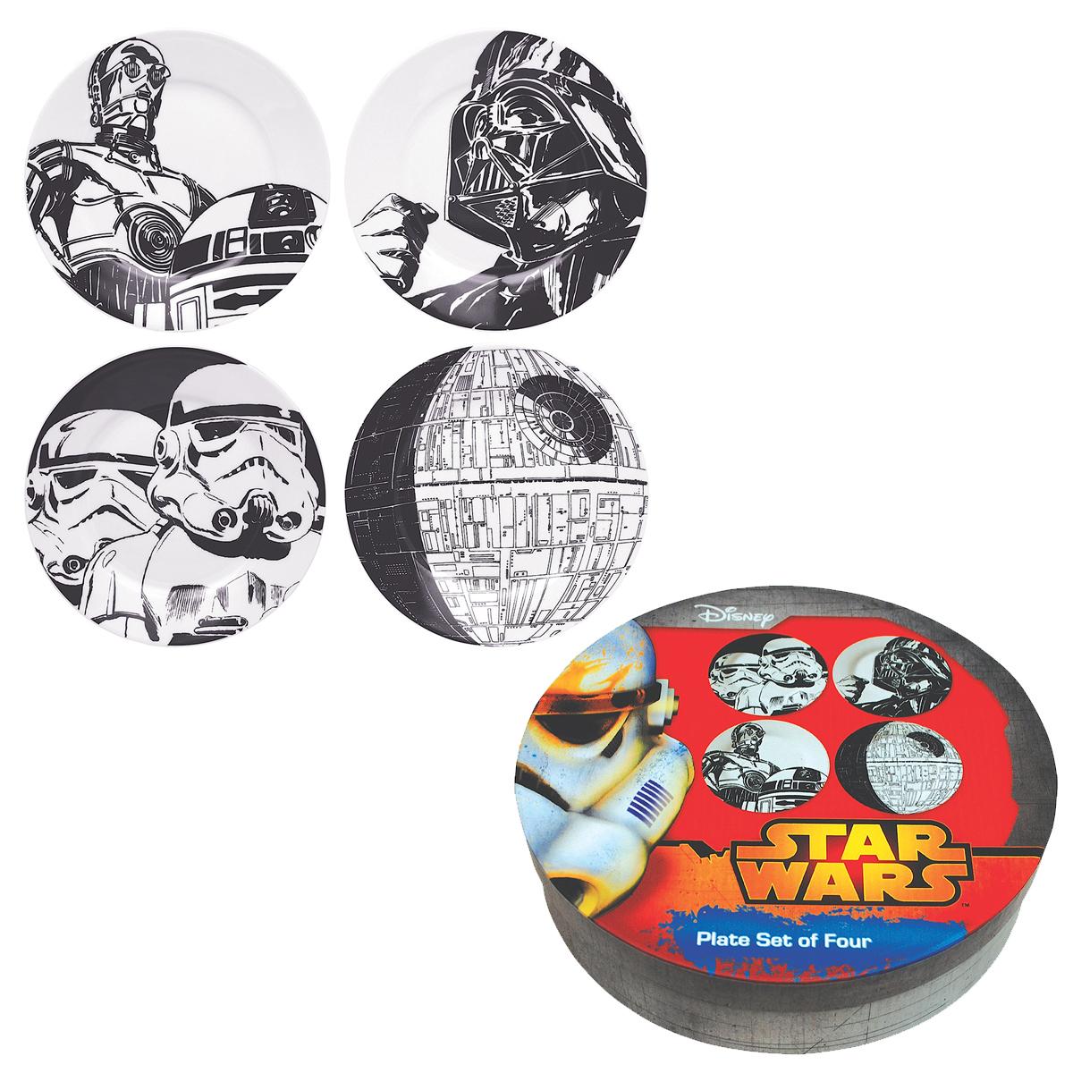 Platten Star Wars<br>- Satz von 4